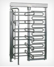 TRIUMPH Single Full Height Industrial Turnstile