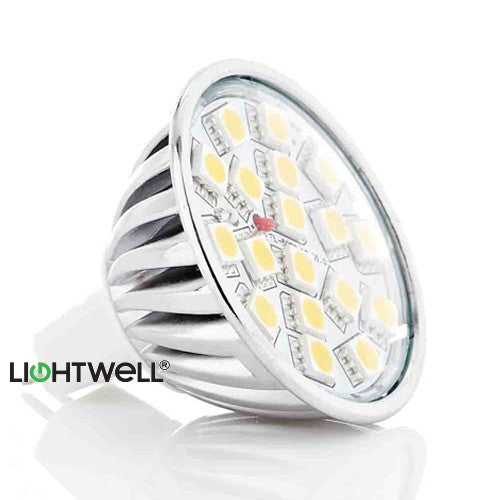 3.5 Watt MR16 LED Bulb. 40W Replacement.