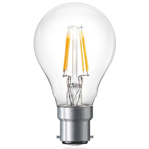 6 Watt B22 Filament LED Bulb (60W Equivalent)