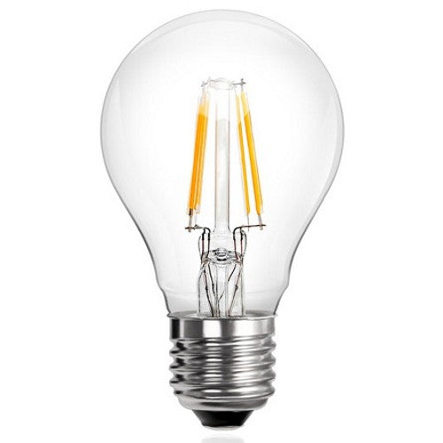 6 Watt E27 Filament LED Bulb. 60W Equivalent.
