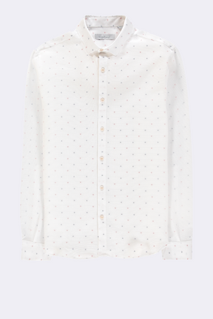 The Good People -  Rico - PIQUE SHIRT WITH PRINT
