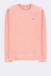 The Good People -  SWEATER WITH CLOUD LOGO PATCH - Peach