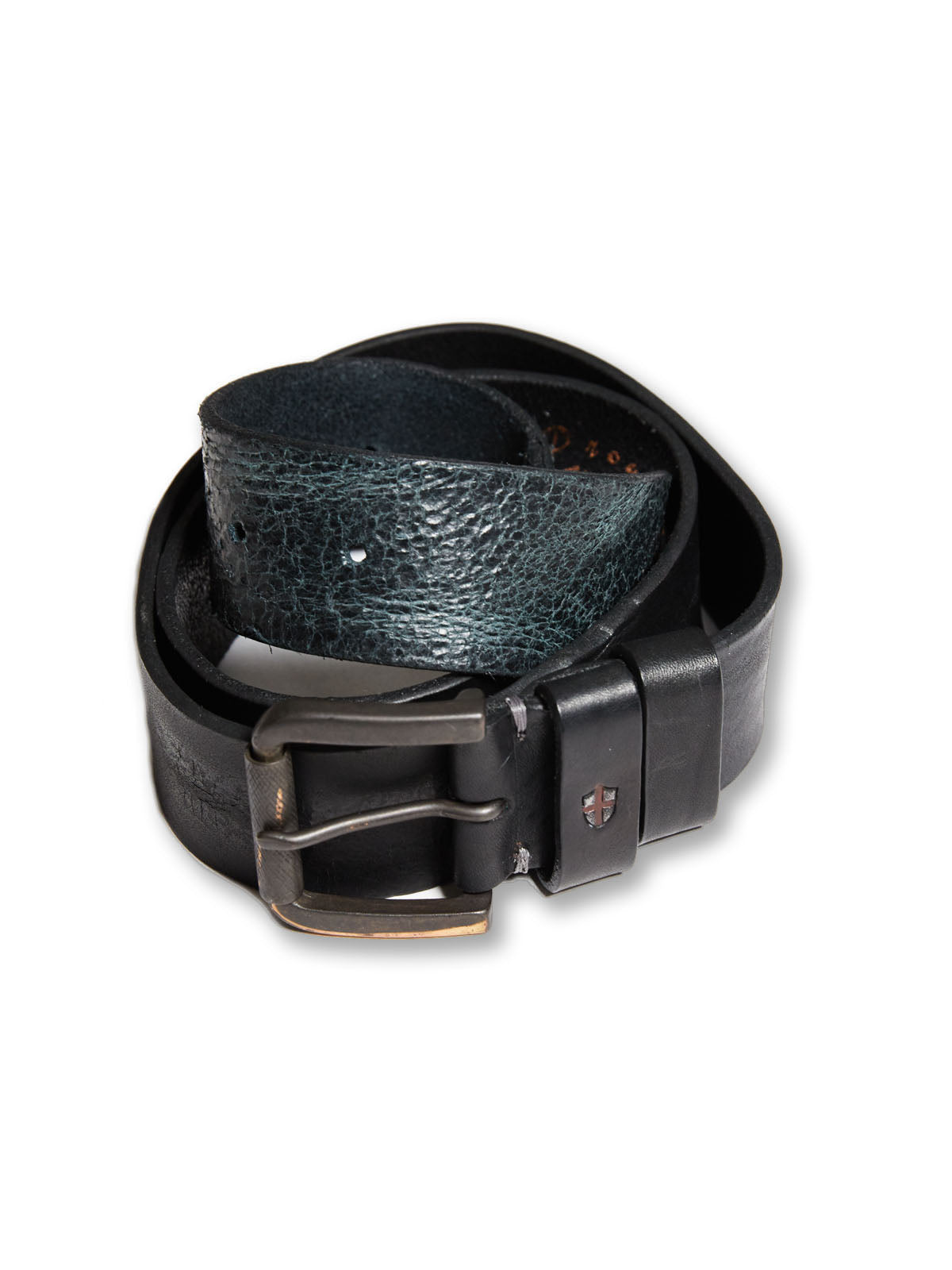 Piceno Leather Belt Black