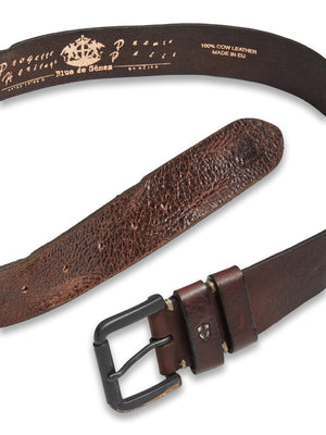 Piceno Leather Belt Cognac