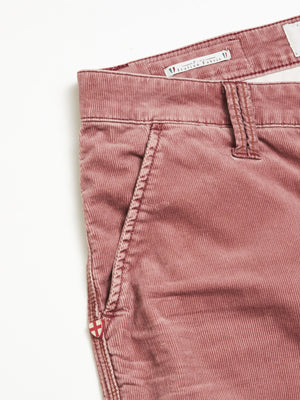 Paulo Pocket Zoldo Trousers Burgundy
