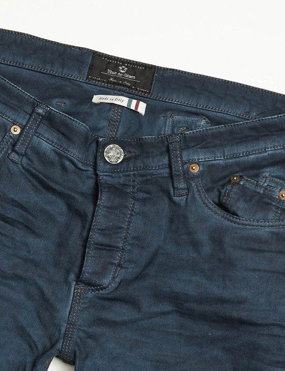 Repi Oil Trousers Ozone Blue