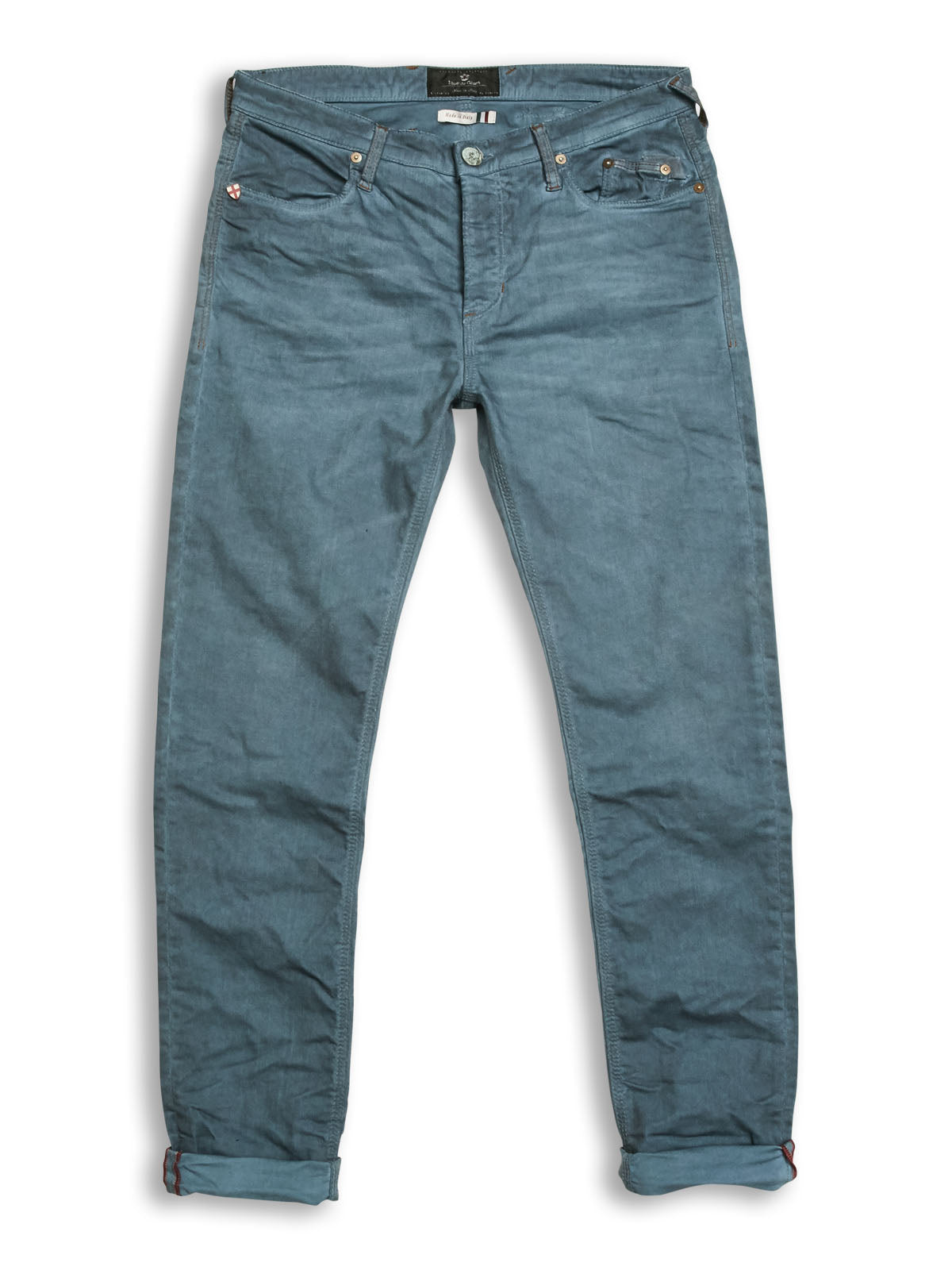 Repi Oil Trousers Blue Tint