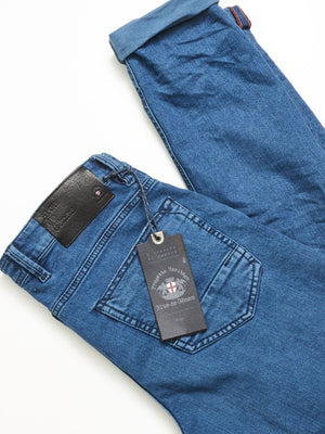 Vinci Colon Jeans - Ozone Blue