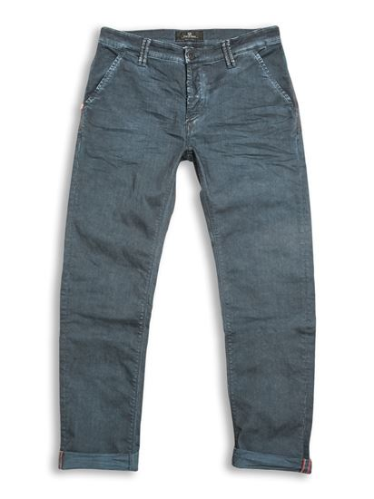 Paulo Pavia Super Oil Trousers - French Blue