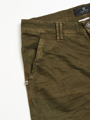 Paulo Pavia Super Oil Trousers - Green Piquant