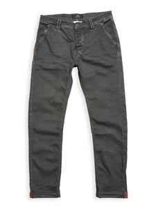 Paulo Pavia Super Oil Trousers - Grey Pin