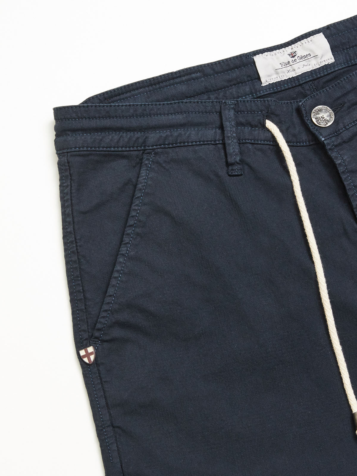 LIA STRING TROUSERS -  NAVY