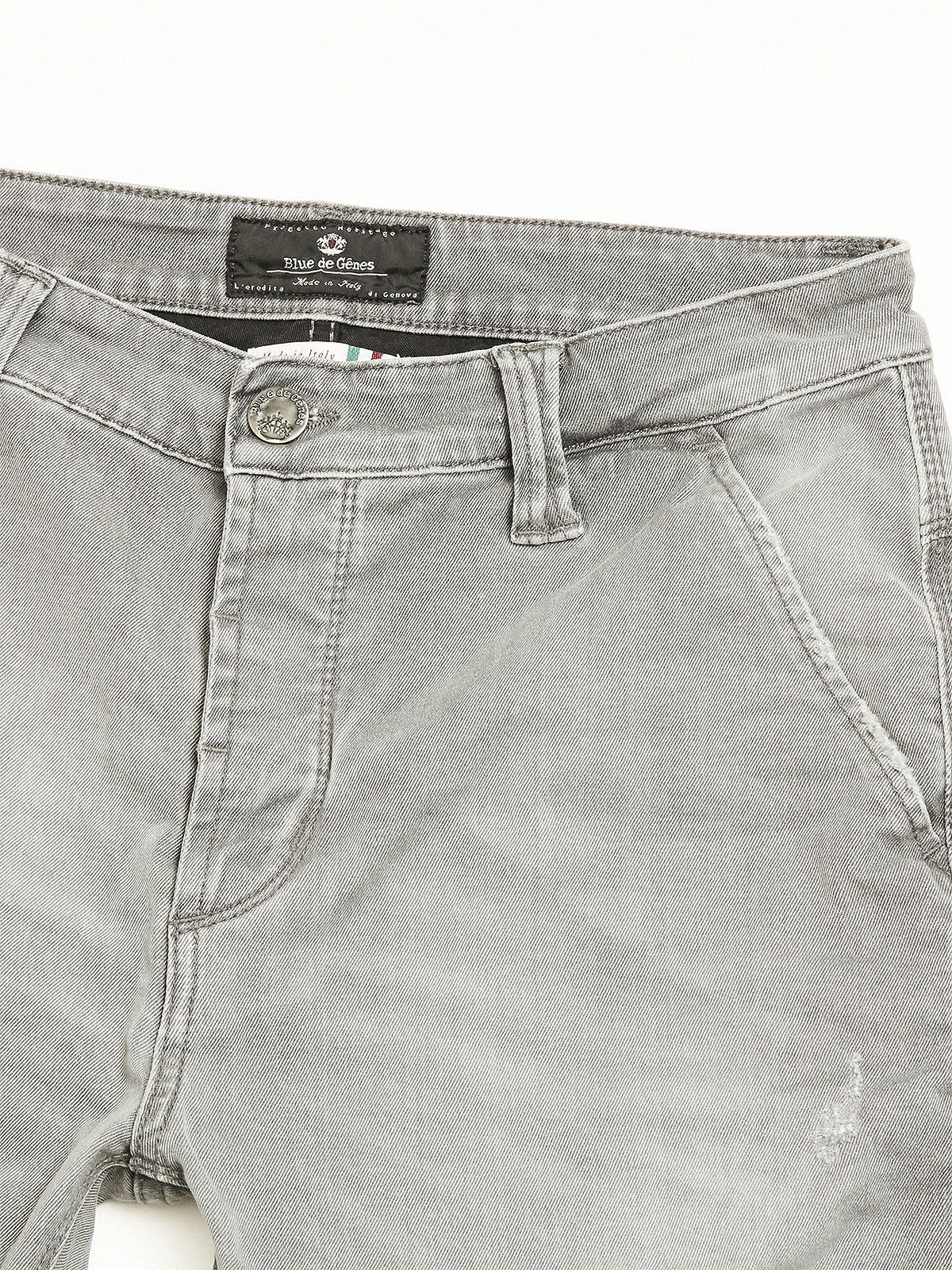 Paulo Carbon Light Trousers