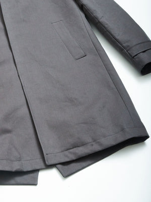 Campasso Zani Coat - Steel Grey