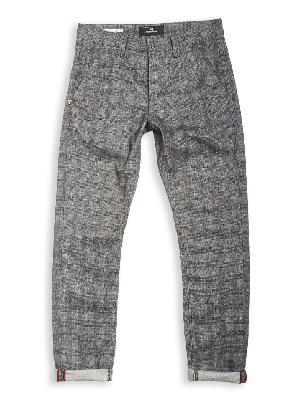 Paulo Kungur Trousers - Grey Check