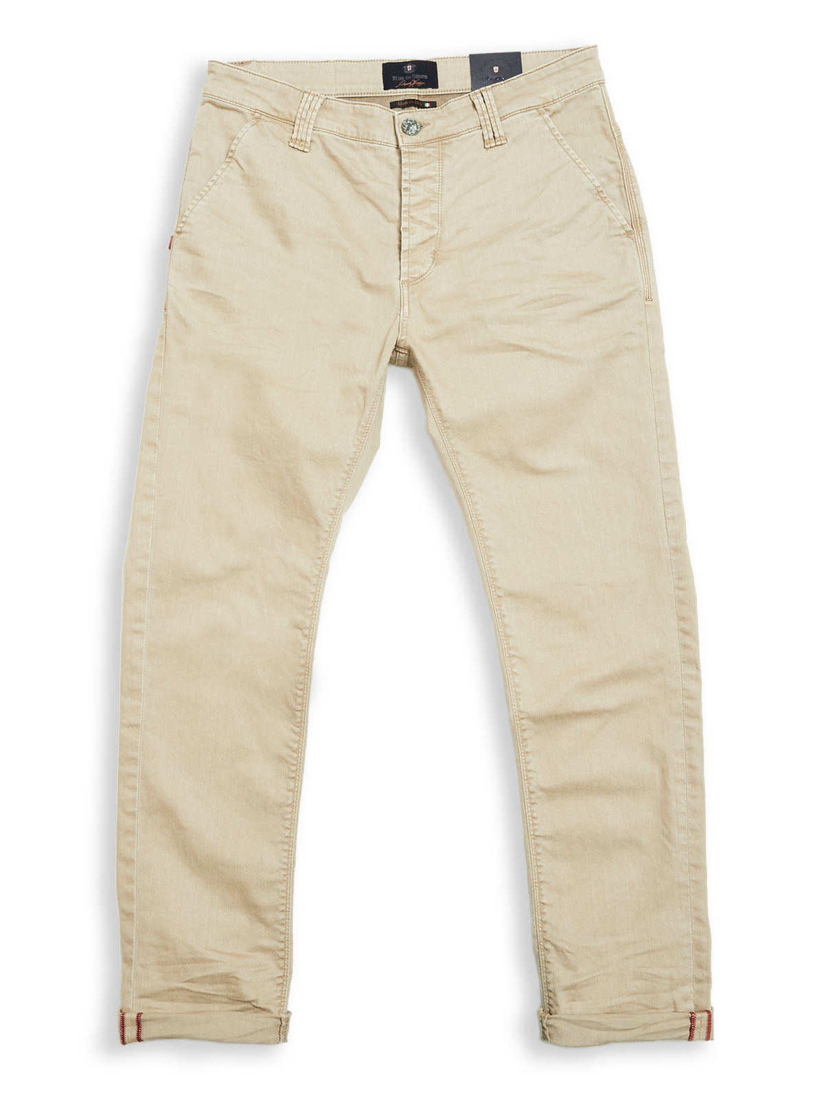 Paulo Pavia Enzyme Trousers - Warm Sand