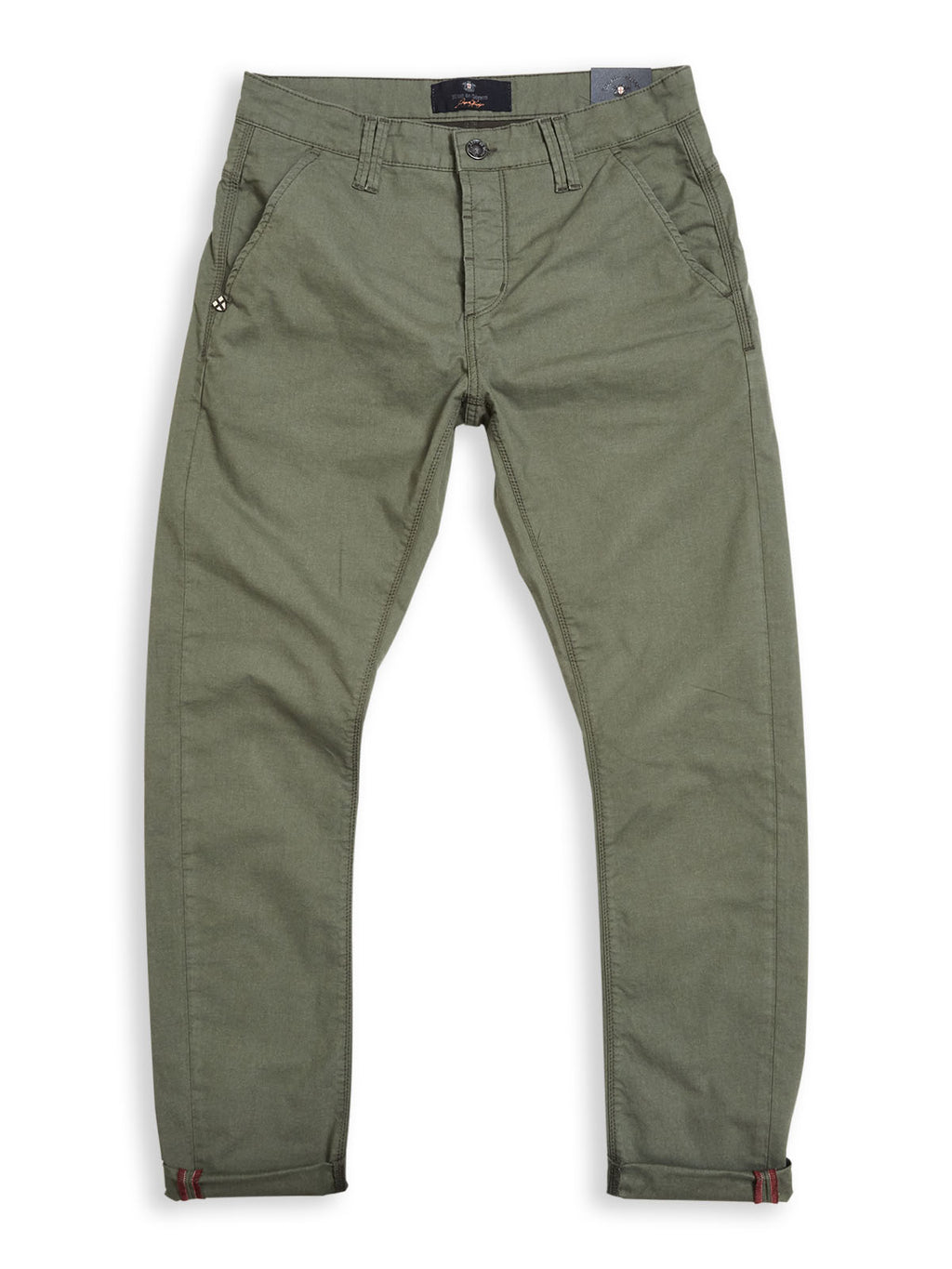 Paulo Spin Trousers - Herb Green