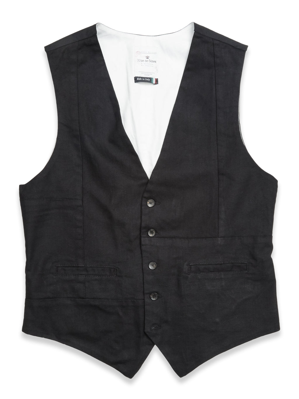 Aero Denim Black Gillet