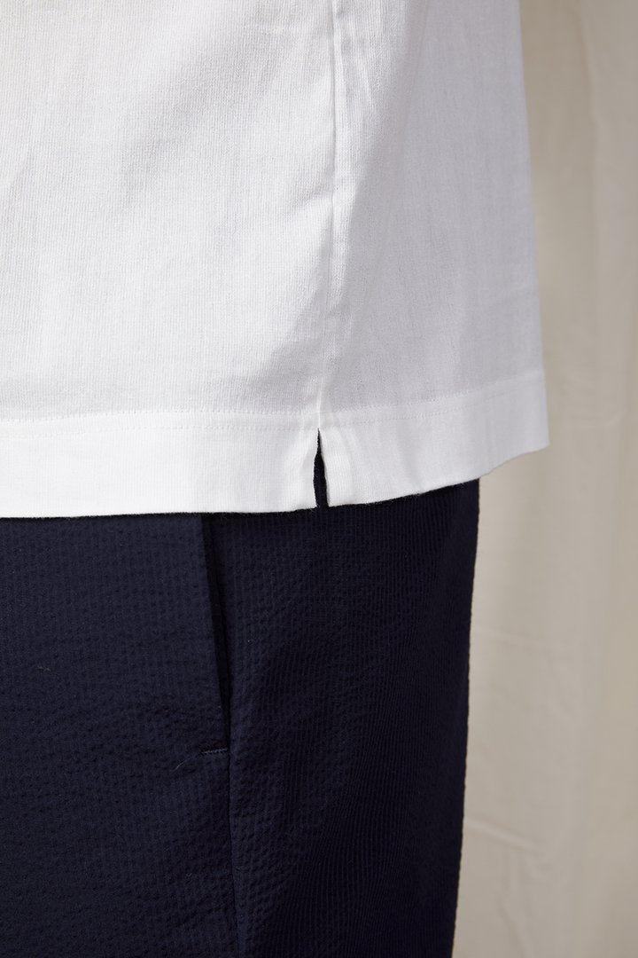 A.B.C.L. GARMENTS - Bow Polo 01 - White
