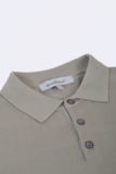 The Good People -  Blanc Retro Polo Shirt