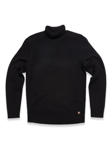 Grosseto Rollneck Knit Black