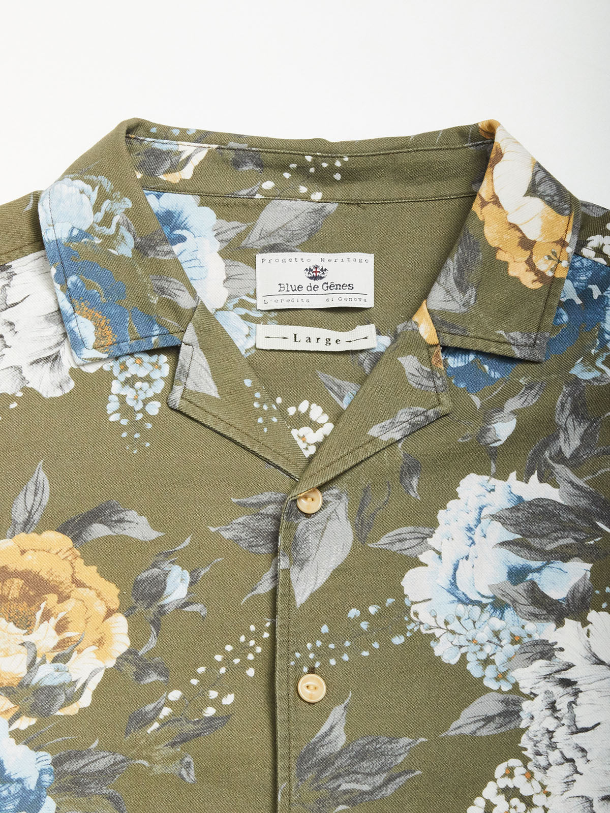 Leo Gisela Short Sleeve Shirt - Olive Green