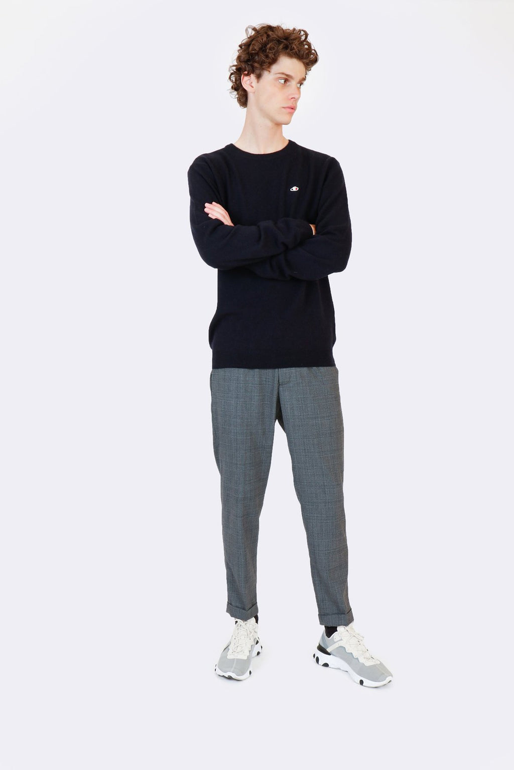 The Good People -  SWEATER KNOX - NAVY