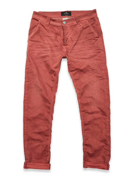 Paulo Oil Trousers Jeans Red
