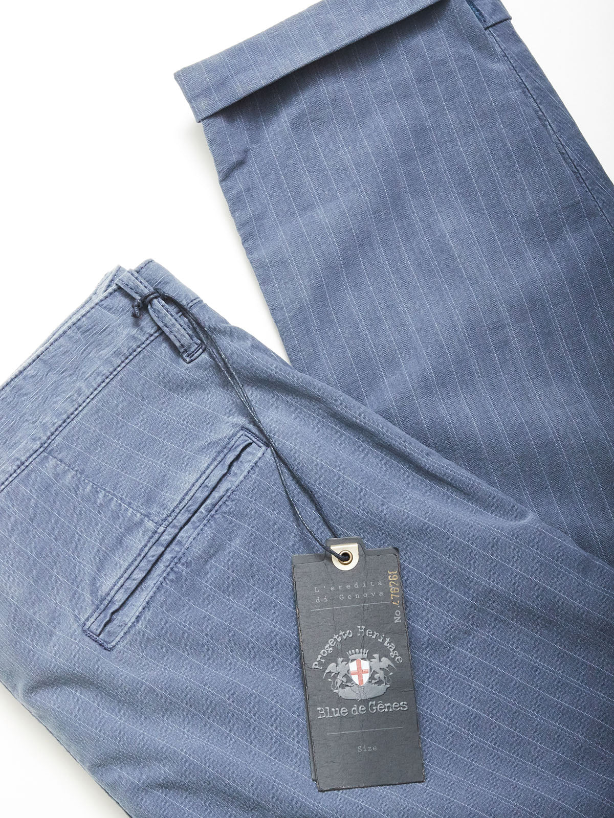 Raphael Astra Trousers - Blue Stripe