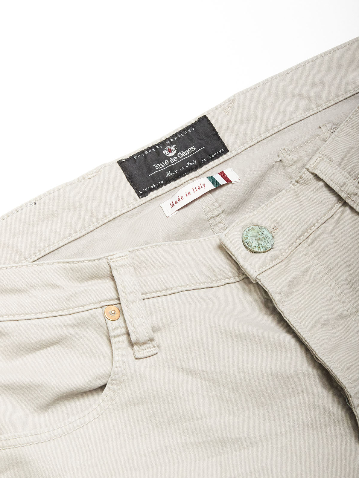 Repi Pavia Washed Trousers - Kit Grey