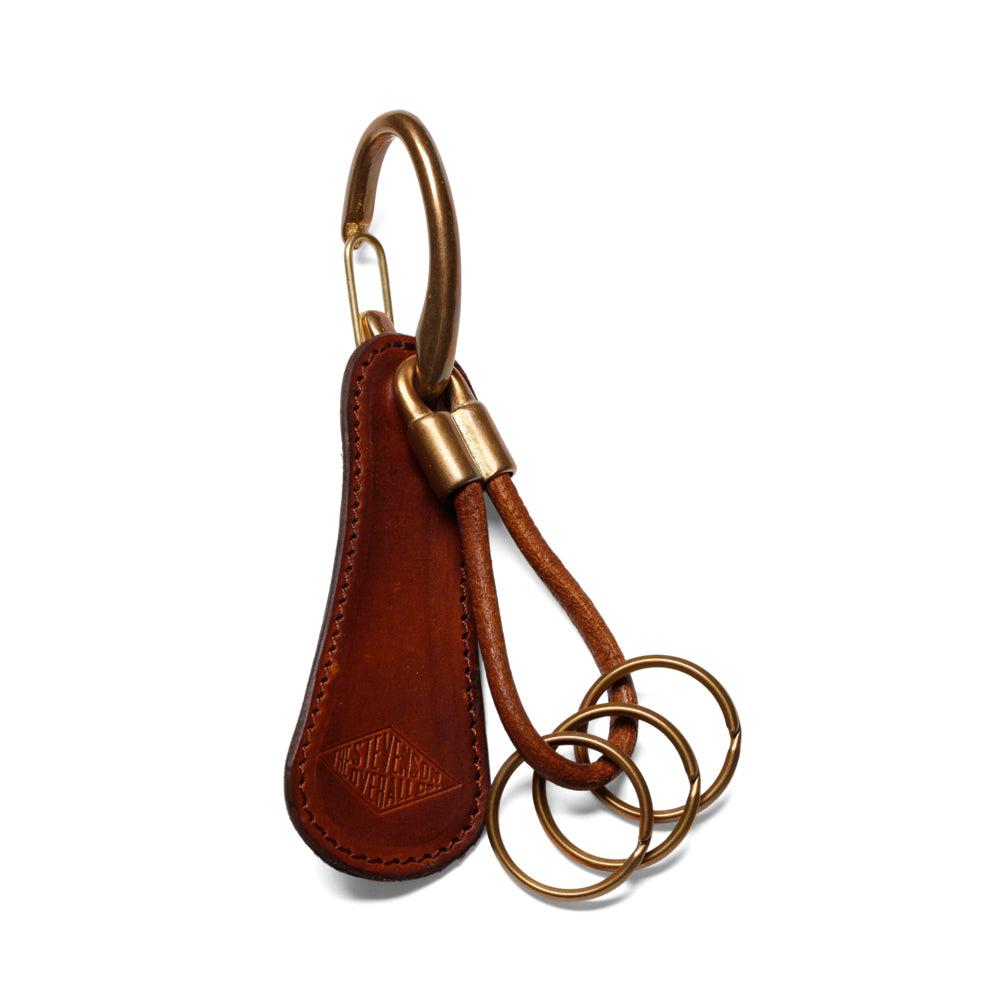 Stevenson Overall Co. Key Holder w/ Shoehorn - KHS Black and Brown