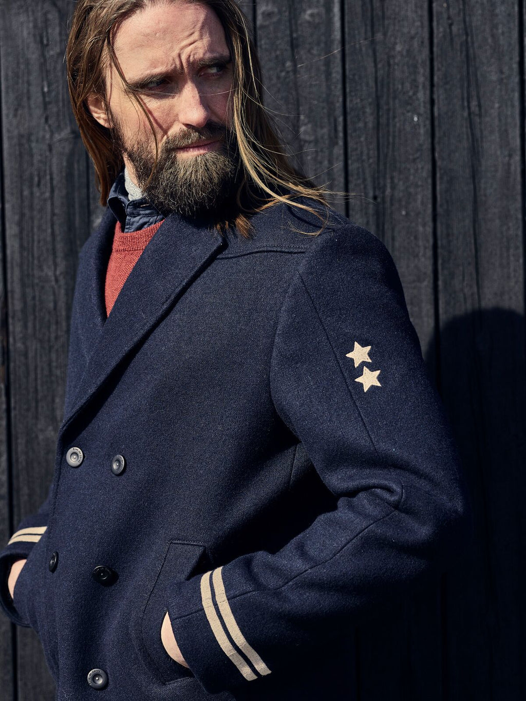 Sailor Coat - Navy