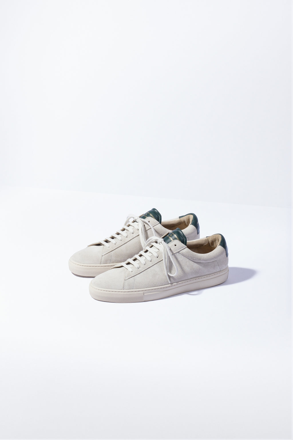 ZESPA - ZSP4. HGH APLA SUEDE  OFF WHITE / SAPIN