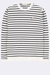 The Good People -  STRIPED KNITWEAR - White Navy