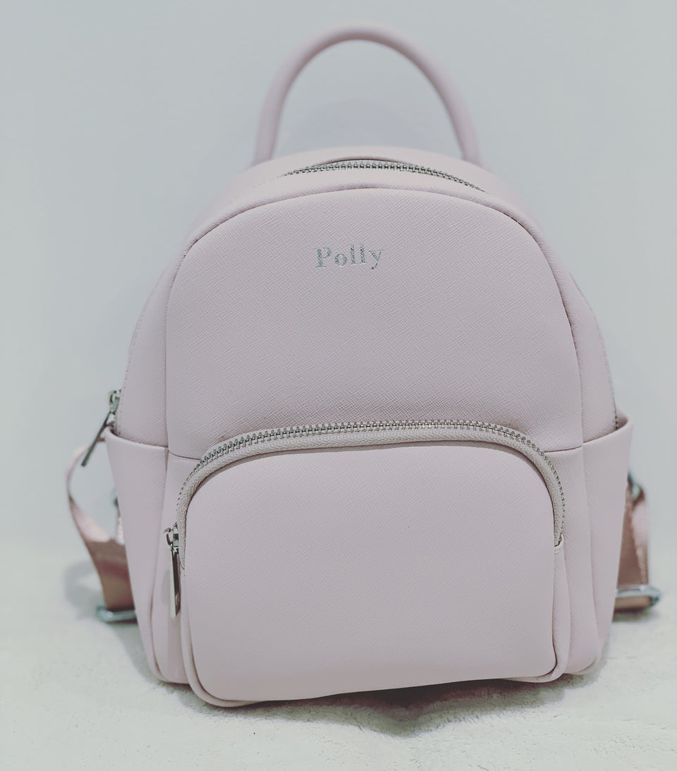 Mini Backpack - Baby Pink