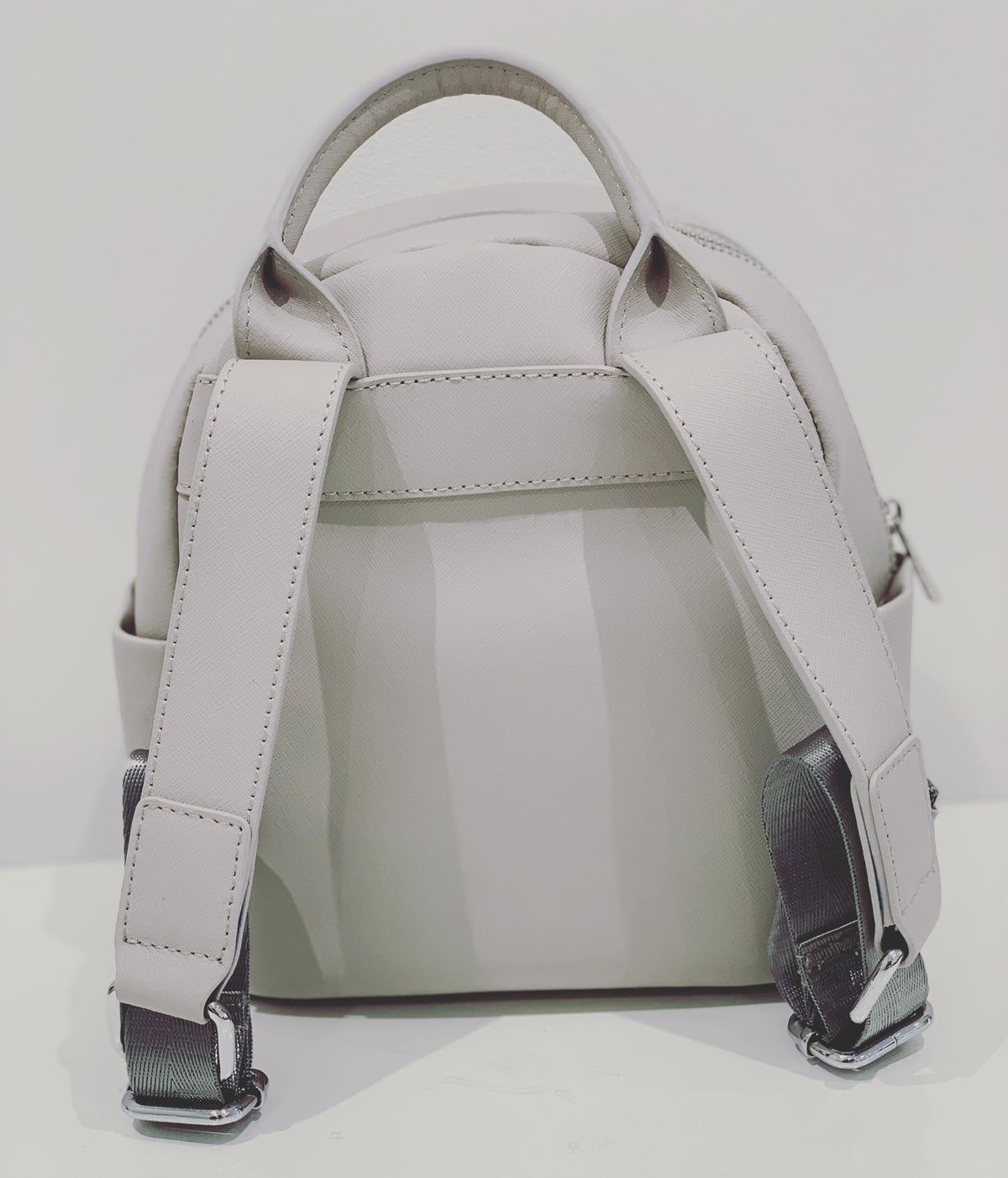 Mini Backpack - Light grey