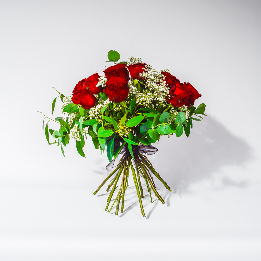 Red Roses Bouquet - Valentines Flowers - XOXO Florist Aberdeen