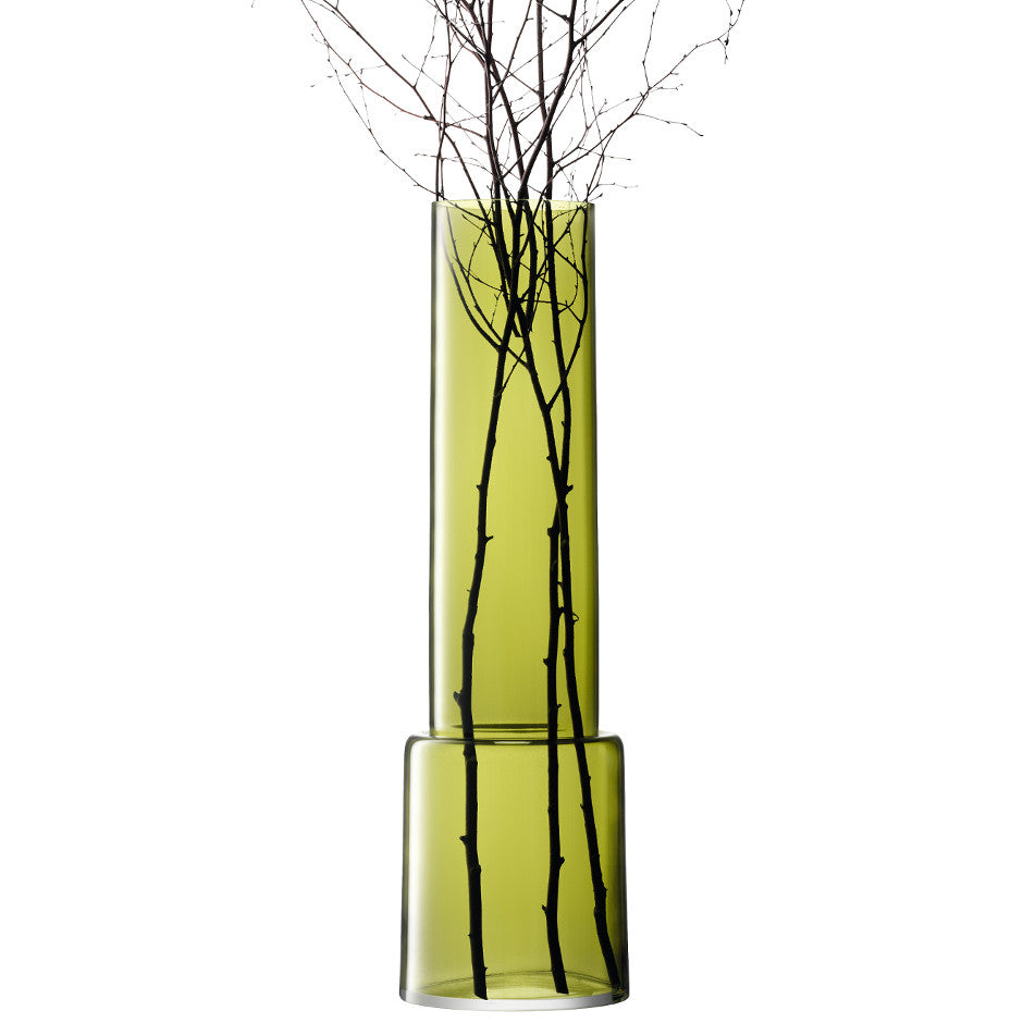 Olive Chimney Vase 85 - LSA International - XOXO Florist Aberdeen