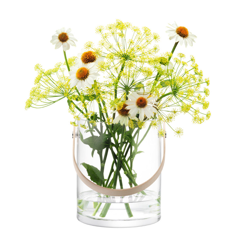 Circular Glass Container By LSA International