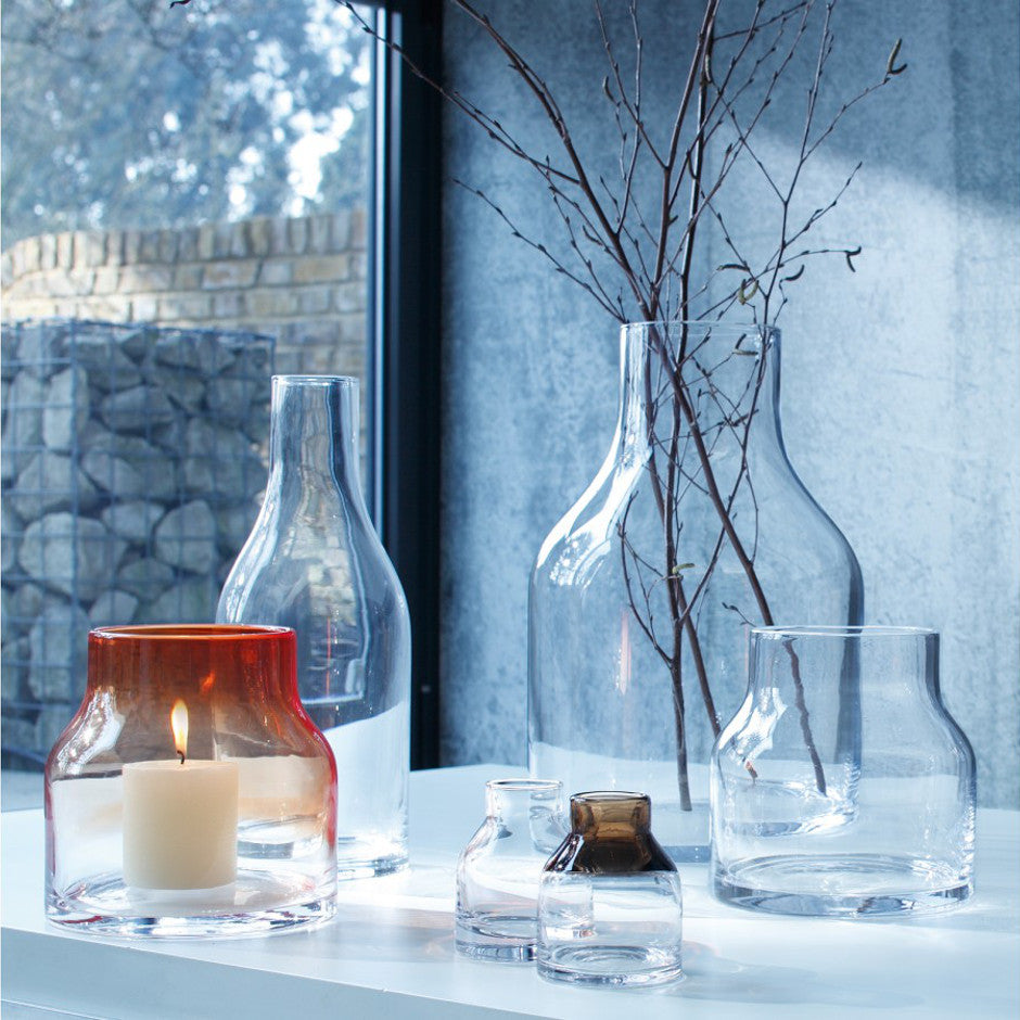 Clear Loft Vase - Homeware - LSA International Glassware