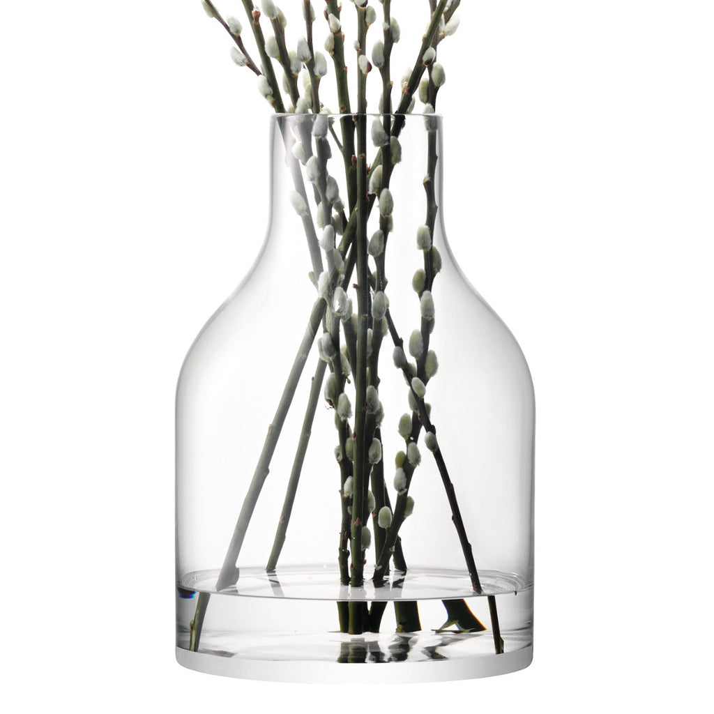 Clear Loft Vase - Homeware - LSA International - XOXO Florist Aberdeen