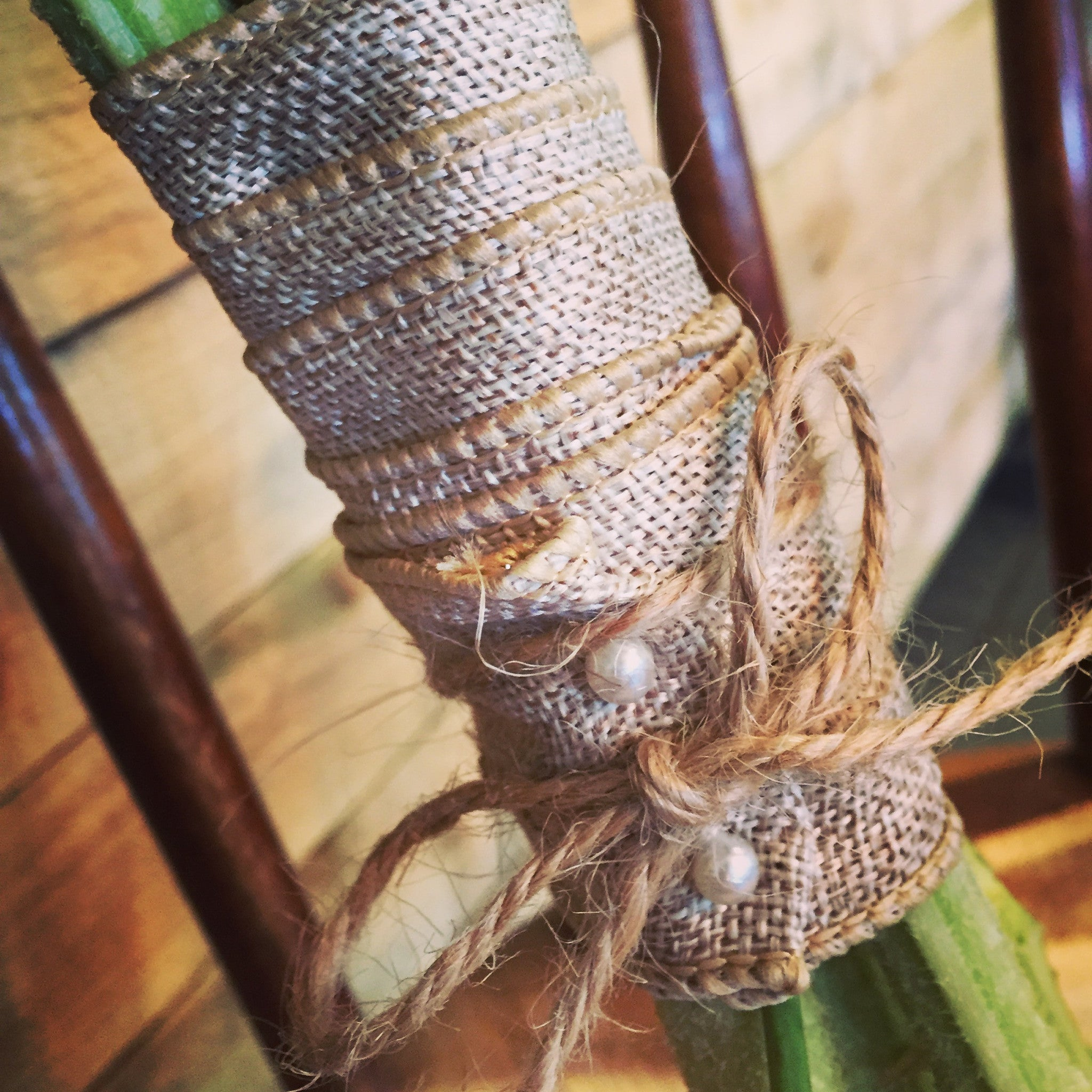 Rustic Bridal Hand-tied