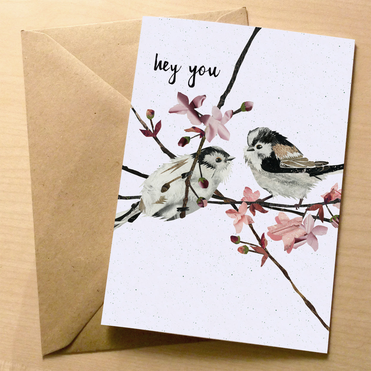 Flying Teaspoons premium greeting card | XOXO Florist Aberdeen