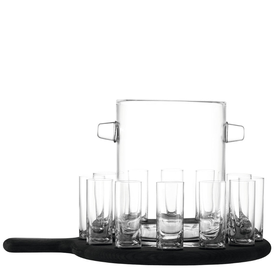 Grand Vodka Serving Set & Paddle - LSA International - XOXO Florist