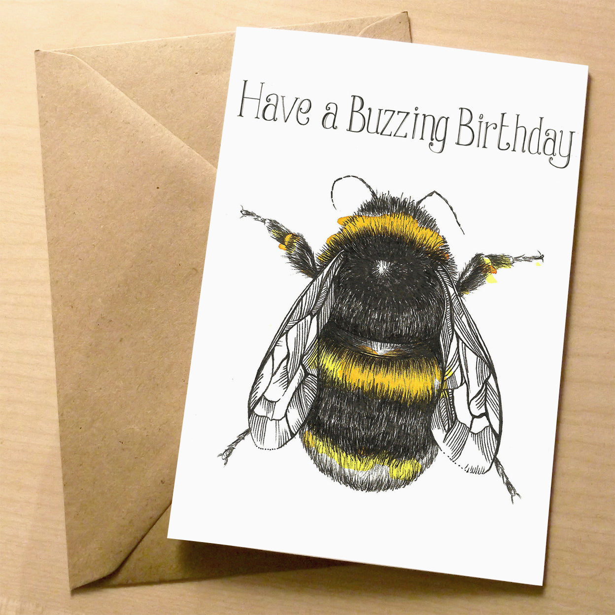 Bumblebee Birthday Greeting card | XOXO Florist Aberdeen