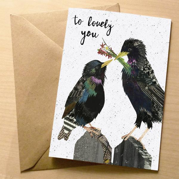 to lovely you premium greeting card | XOXO Florist