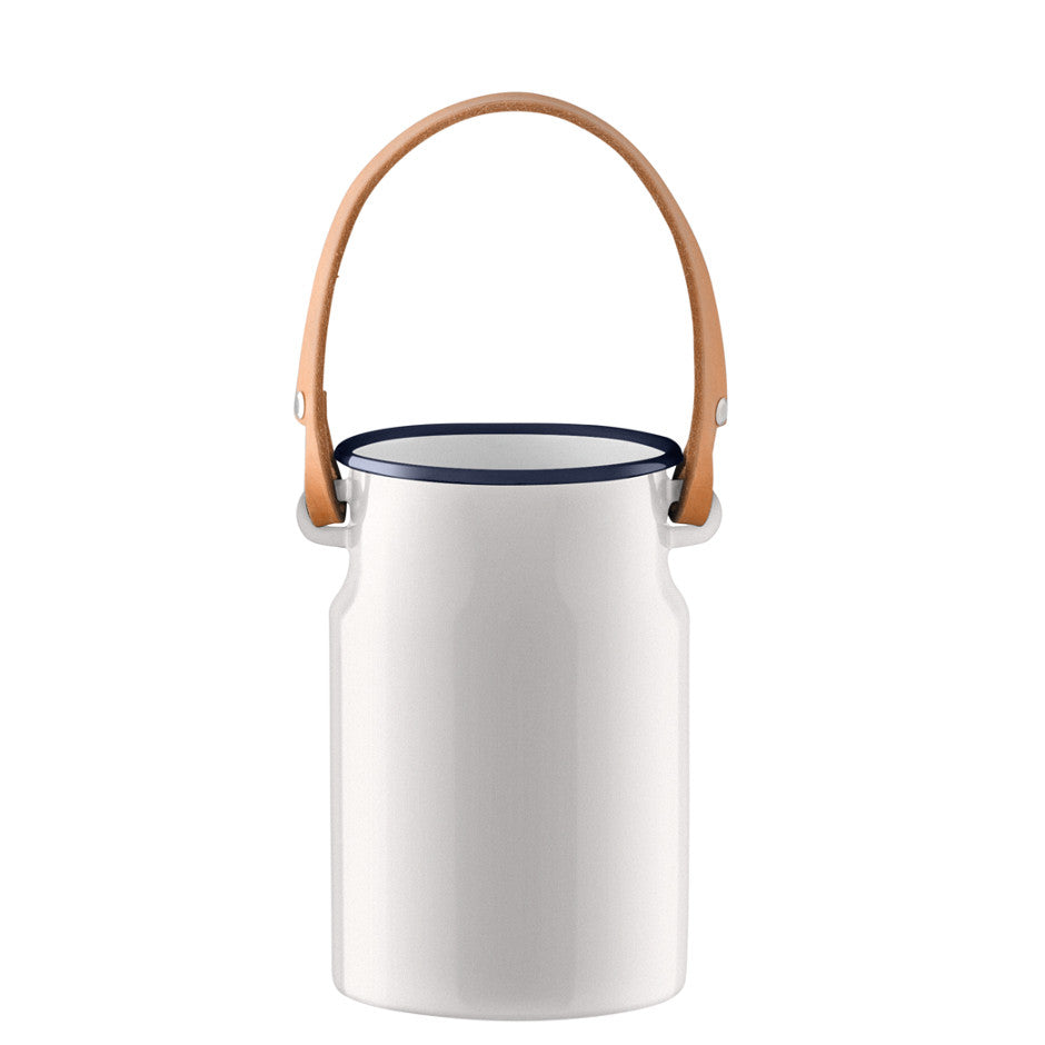 Utility Utensil Pot with Leather Handle - LSA International - xoxo Florist Aberdeen