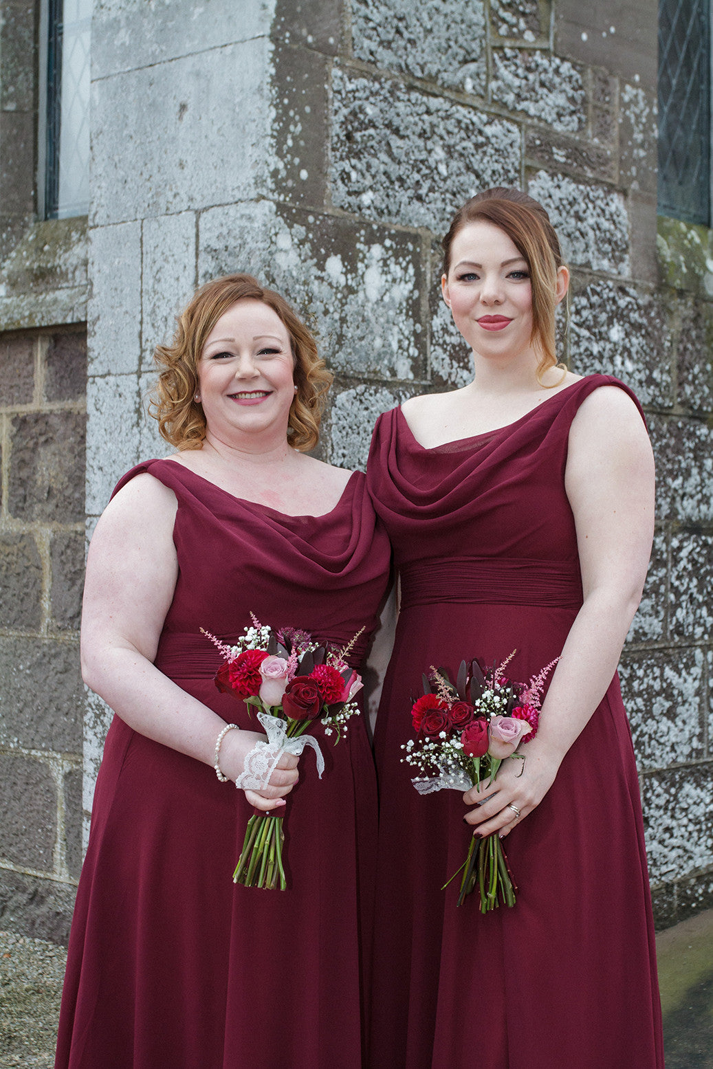 Bridesmaids Wedding Bouquets by XOXO Florist Aberdeen