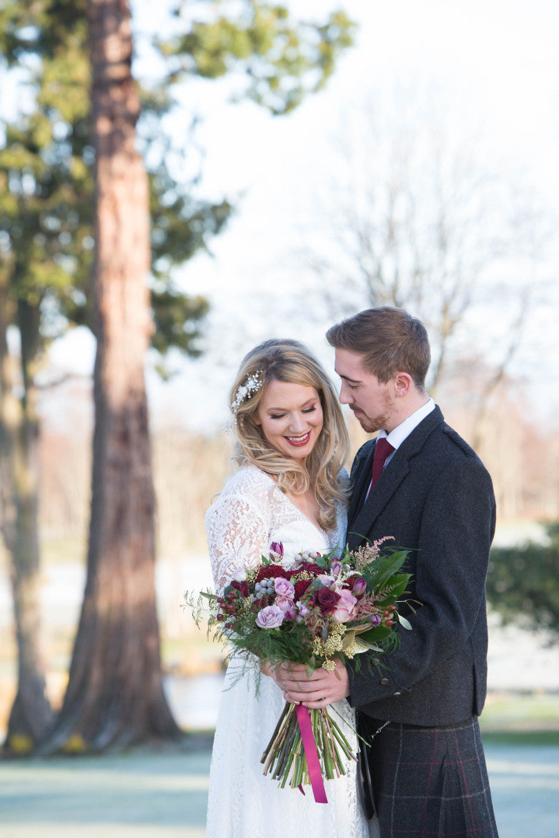 A Winter Wedding | Wedding Flowers | XOXO Aberdeen Florist