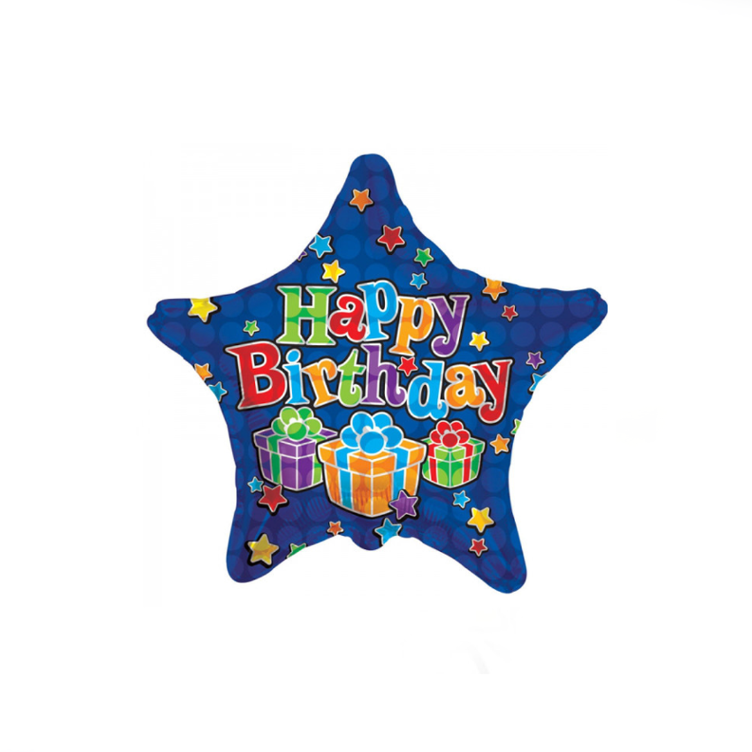 Star Birthday Balloon - XOXO Florist Aberdeen